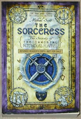 Sorceress   Secrets Of Immortal Nicholas Flamel  3   Advance Copy   Scott   Sc