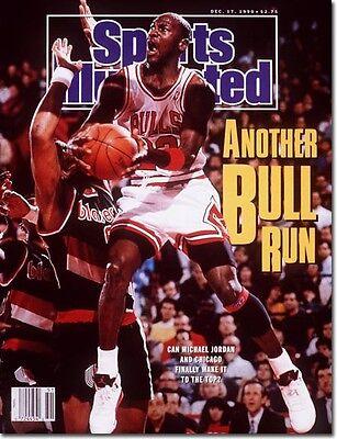 December 17, 1990 Michael Jordan Chicago Bulls Sports Illustrated