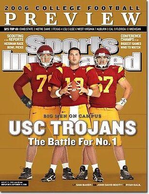 USC TROJANS 2006 SPORTS ILLUSTRATED MAGAZINE MINT NO LABEL
