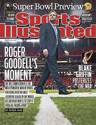 February 7  2011 Roger Goodell  Football Sports Illustrated A
