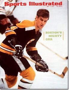 May 4, 1970 Bobby Orr, Hockey, Boston Bruins SPORTS ILLUSTRATED A