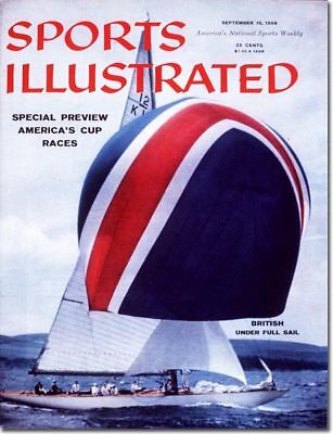 September 15, 1958 Yacht Racing Sports Illustrated