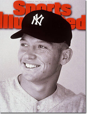 August 21, 1995 Mickey Mantle, New York Yankees Sports Illustrated A