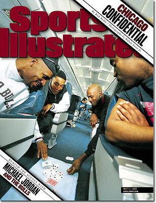 May 11, 1998 Michael Jordan Chicago Bulls Sports Illustrated NO LABEL 1