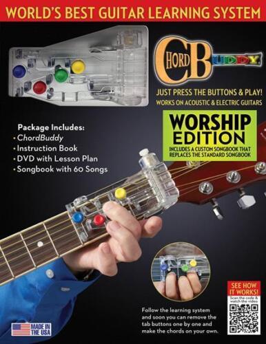 ChordBuddy Guitar Learning System - Worship Edition 124638