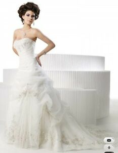Private Label By G style # 1385 Ivory Wedding gown
