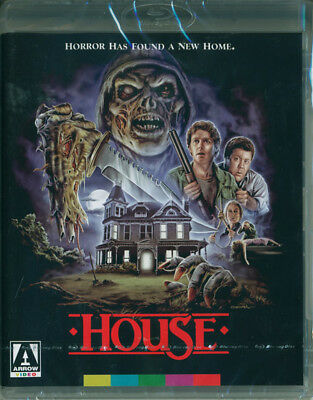 House (1996) Limited Edition Arrow Blu-ray - Brand New! Ships First Class - Ghost Ship 2017 Halloween