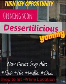 Commercial Shop to let*A3-A5* Alum Rock**Ideal Shop**Must View*Pelham- Currently a Desert Shop*
