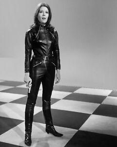 The Avengers Emma Peel Diana Rigg Check 10x8 Photo