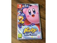 Kirby star allies Nintendo Switch game only played on twice as new condition