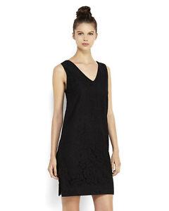 New-STEVEN-ALAN-Black-Nelly-Lace-Dress-Sleeveless-Knee-Length-Sz-6-Retail-325