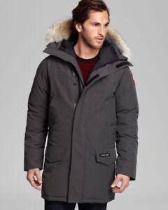 Brand New Men Canada Goose Langford Parka Large - Graphite $850