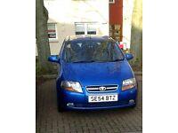 Blue Daewoo Kalos, 2005 - £600