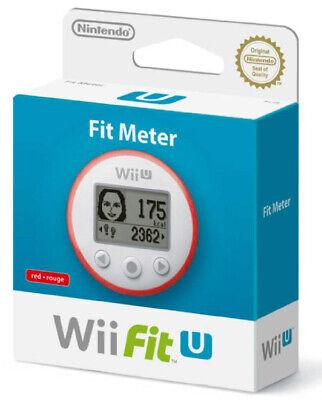 Nintendo Wii U Fit Meter Red NINTENDO