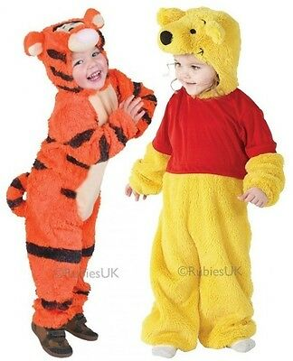 Baby Toddler Girls Boys Winnie the Pooh Tigger Book Fancy Dress Costume Outfit