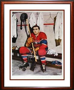 MAURICE RICHARD  FOR THE LOVE OF THE GAME PRINT Strathcona County Edmonton Area image 1