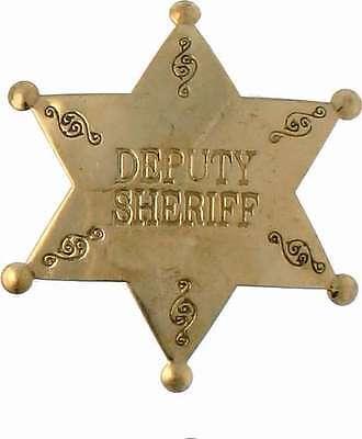 Deputy Sheriff Stern US Sheriffstern Western Cowboy USA Marshal United States