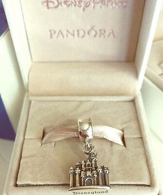 Authentic Pandora Disney Park Sleeping Beauty Castle Disneyland Charm 791599