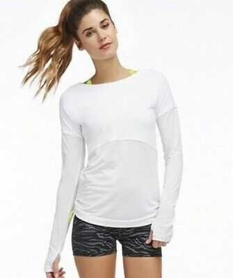 FABLETICS Cashel L/S Tee Pullover Cinch Knot FITNESS YOGA M