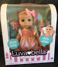 Blonde Luvabella Doll (Brand New)