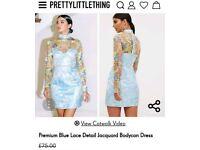 Jacquard dress brand new size 8