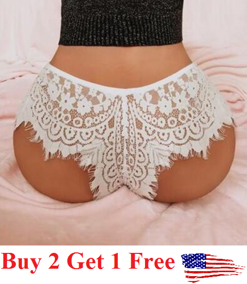 ☆USA☆ Sexy Women Lace Thong G-string Panties Lingerie Underwear  T-back black Clothing, Shoes & Accessories