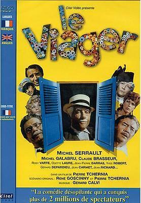 """MICHEL SERRAULT- GALABRU- DEPARDIEU-CARMET -BRASSEUR  """" LE VIAGER  -  DVD NEUF"""