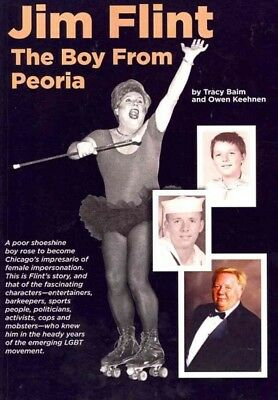 Jim Flint : The Boy from Peoria, Paperback by Baim, Tracy;