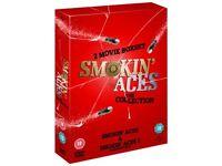 Smokin Aces 1 & 2. boxset (never viewed)