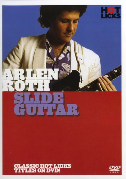 Hot Licks Arlen Roth Slide Guitar Learn to Play Country Blues Rock Music DVD