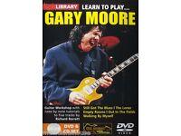 Gary Moore Singer Guitar Hard Rock Blues Music Print Poster Wall Art 8.5x11