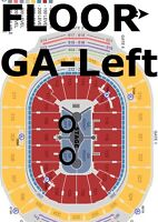 Carrie Underwood May 29 - 2/4 hard tix - General Admission Floor