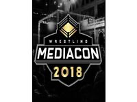 Wrestling Mediacon 2018 - Manchester - 2 Weekend Tickets