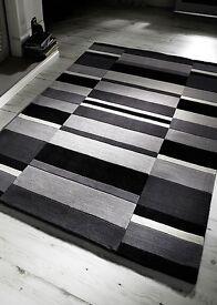 Jazz Blocks Charcoal Rug (New)