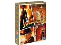 Indiana Jones complete collection dvd boxset