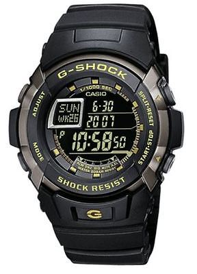 Casio G-Shock Men's Quartz Watch Black Dial Digital Display and Black Resin