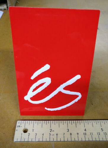 eS Skateboarding shoe sign - NEW!