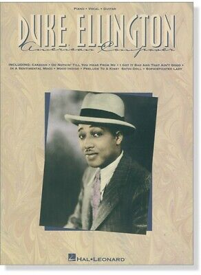 DUKE ELLINGTON - American Composer - paperback sheet music book F2 073999271102 Duke Ellington Music Book