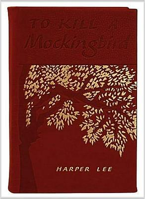 TO KILL A MOCKINGBIRD ~ RED LEATHER GIFT ED ~ HARPER LEE ~ COMES BOXED!