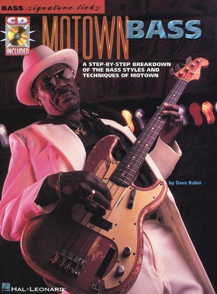 Bass Signature Licks Motown Bass Learn to Play Guitar TAB Music Book