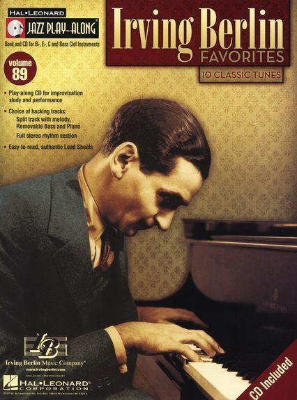 Jazz Play-Along MORE Irving Berlin Clarinet Saxophone Flute BRASS Music Book