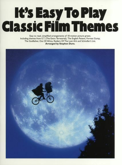 Its Easy To Play Classic Film Themes Learn Play BEGINNER Piano Music Book