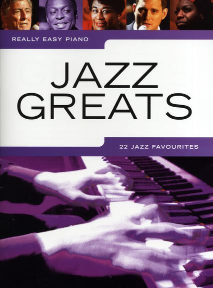 Really Easy Piano Jazz Greats Learn to Play Beginner Piano Music Book
