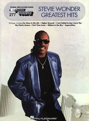 E-Z Play Today Stevie Wonder Greatest Hits Learn EASY Piano PVG Music Book