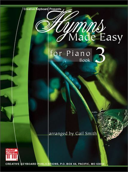 MEL BAY HYMNS MADE EASY Learn to Play CHURCH GOSPEL SONGS Piano Music Book 3