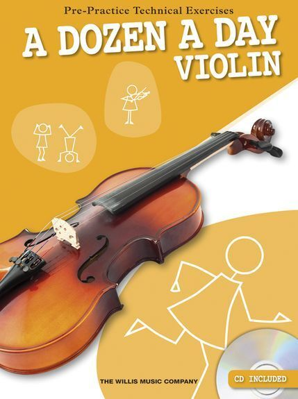 A Dozen A Day Violin Learn to Play Beginner Starter Lesson Music Book & CD