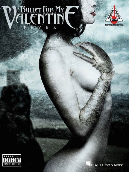 Bullet For My Valentine Fever Learn to Play Metal Rock Guitar TAB Music Book