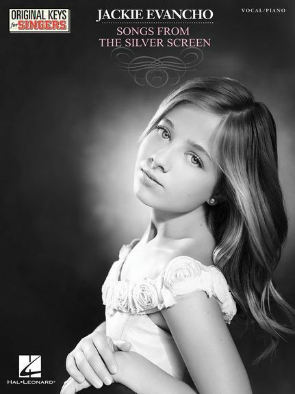 Jackie Evancho Songs From The Silver Screen Vocals Choral Voice Choir Music Book