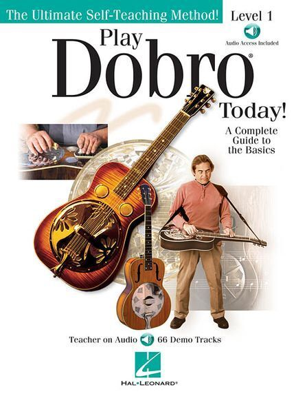Learn to Play Dobro Today Easy Beginner Instruction Music Book & Online Audio