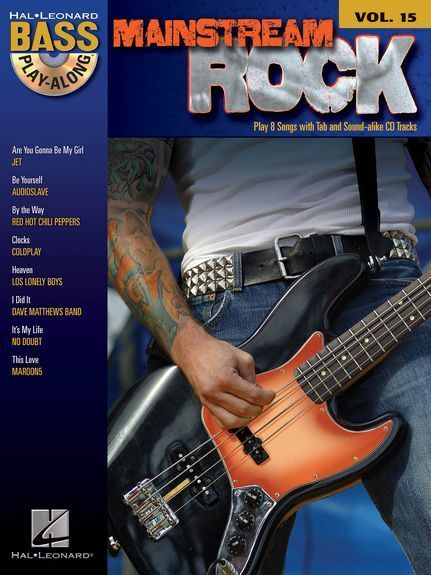 Bass Play-Along Metal Rock Guitar TAB Learn to Play Music Book & CD